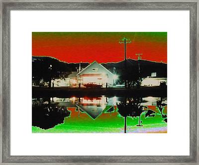 Seabeck General Store Framed Print by Tim Allen