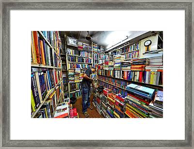 Seaching Framed Print by Nat