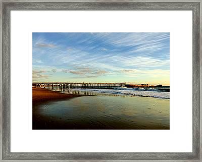 Seacliff Sky Stretch Framed Print
