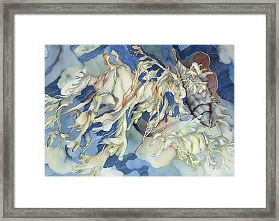 Seadragon Fantasy Framed Print by Liduine Bekman