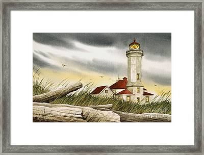 Seafarers Sentinel Framed Print by James Williamson