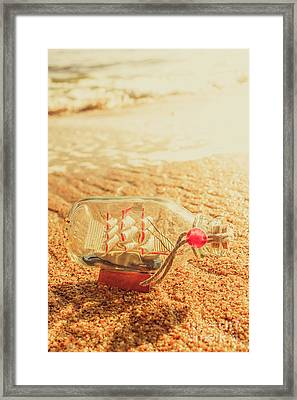 Seafaring Scenes Framed Print by Jorgo Photography - Wall Art Gallery