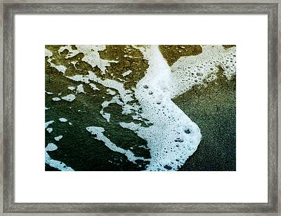 Seafoam Framed Print