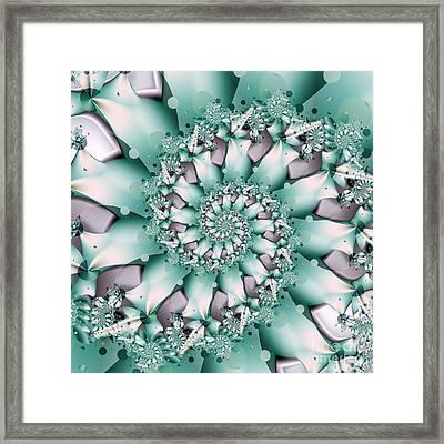 Seafoam Spring Framed Print