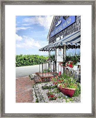 Seafood For Sale Framed Print by Janice Drew