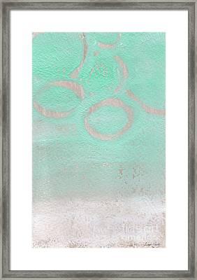 Seaglass Framed Print