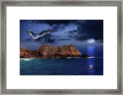 Seagull Flight Framed Print by Jaroslaw Grudzinski