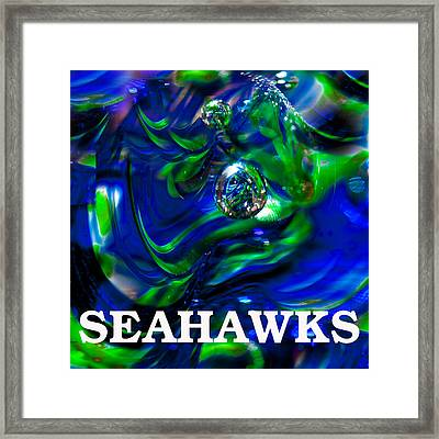 Seahawks 3 Framed Print by David Patterson