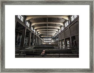 Seaholm Power Plant Framed Print