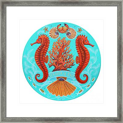 Seahorse Bay Framed Print by Danielle Perry