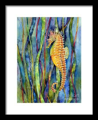 Aquarium Framed Prints