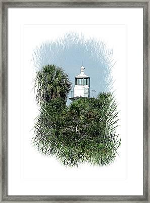 Seahorse Key Light Framed Print