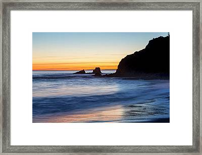 Seal Rock Serenity Framed Print
