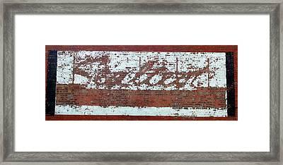 Sealtest Framed Print by Jame Hayes