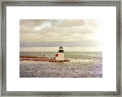 Seamans Light Framed Print by JAMART Photography