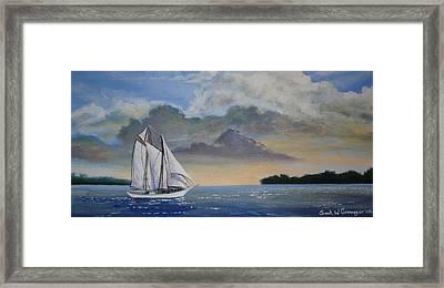 Seamester  Framed Print