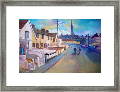 Sean Hueston Place Limerick Ireland Framed Print
