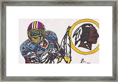 Sean Taylor Framed Print by Jeremiah Colley