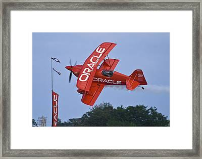 Sean Tucker - Team Oracle Framed Print