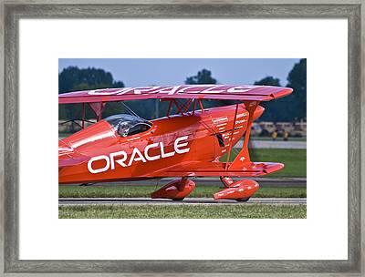 Sean Tucker Team Oracle Framed Print
