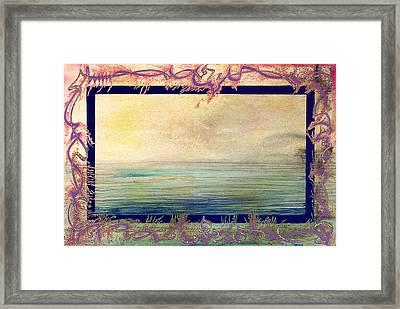Seanic Wander Framed Print by Tom Hefko