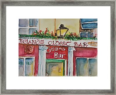 Seans Irish Pub Framed Print