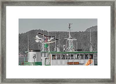 Seaplane Art Of The Craft Framed Print