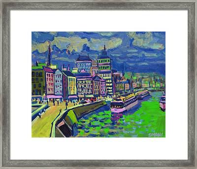 Seaport Framed Print by Brian Simons