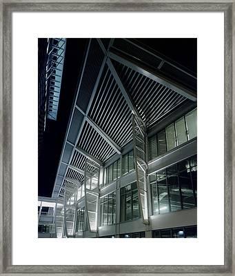 Seaport Framed Print by Robert Ruscansky