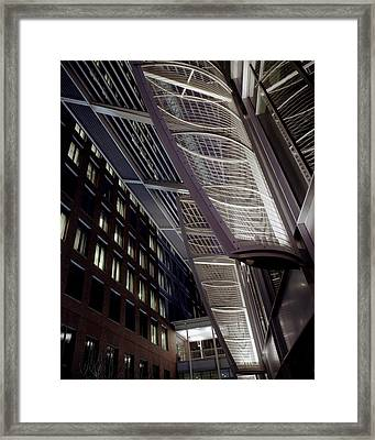 Seaport2 Framed Print by Robert Ruscansky