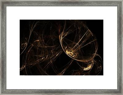 Search For Extra-terrestrial Intelligence  Framed Print
