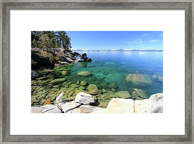 Search Her Depths  Framed Print