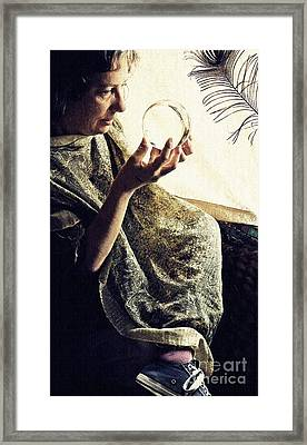 Searching 2 Framed Print by Sarah Loft