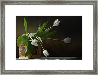 Searching For A Dutch Master Framed Print by Maggie Terlecki