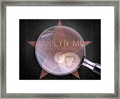 Searching For A Star Framed Print