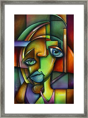 'searching For Eve' Framed Print by Michael Lang
