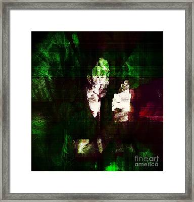 Searching For Hope Framed Print by Fania Simon