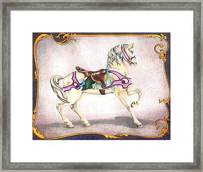 Searching For The Brass Ring No. Six Framed Print
