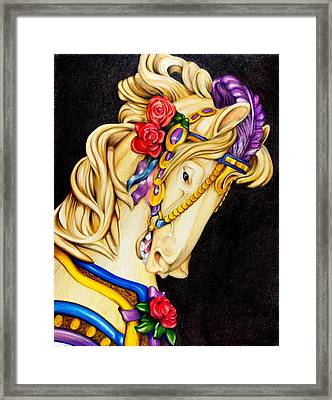 Searching For The Brass Ring No.12 Framed Print