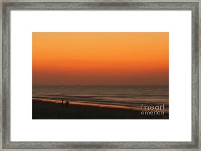 Searching Framed Print by Jeff Breiman
