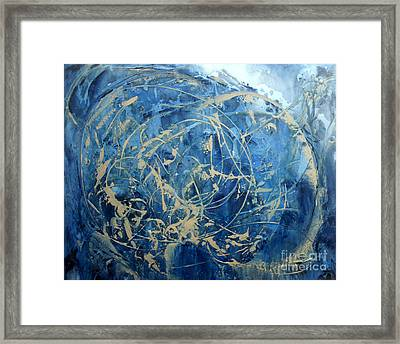 Searching Framed Print by Valerie Travers