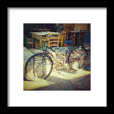 Cycling Framed Prints
