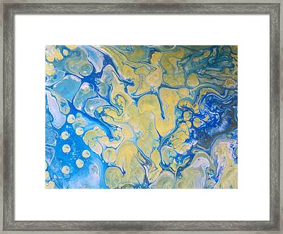 Seas And Rivers Framed Print by Susan Johansen