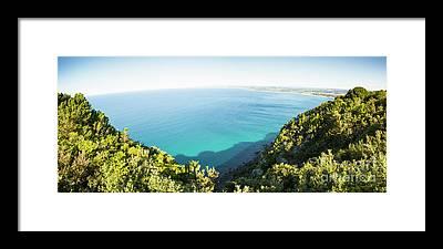 Tasman Sea Framed Prints