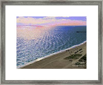 Seascape 1006 Framed Print
