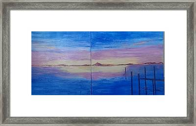 Seascape 7 Framed Print