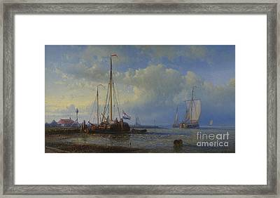 Seascape Framed Print by MotionAge Designs