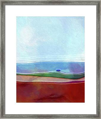 Seascape Artwork Framed Print