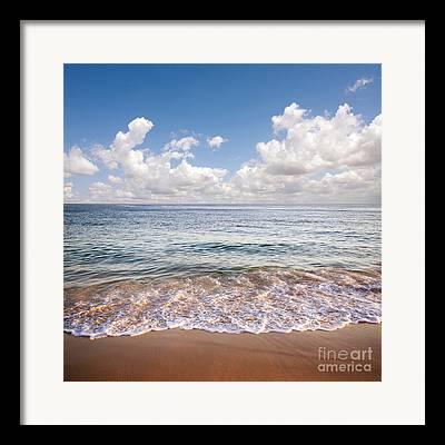 Warm Summer Framed Prints
