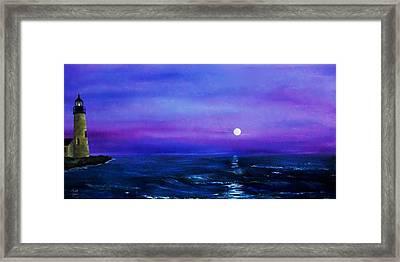 Seascape II Framed Print by Tony Rodriguez
